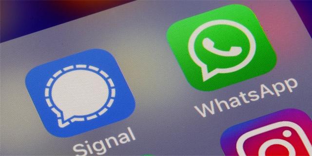 Signal, WhatsApp, Facebook anh 1