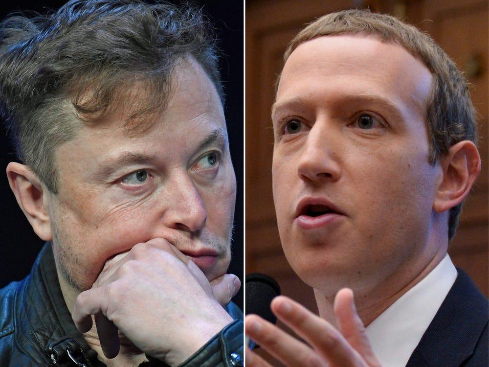 Mau thuan giua Elon Musk va Mark Zuckerberg anh 1