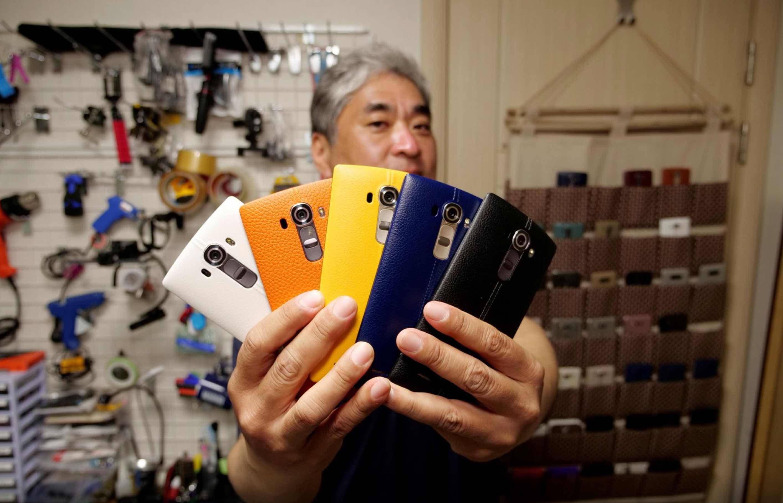 LG dong cua mang kinh doanh smartphone anh 1
