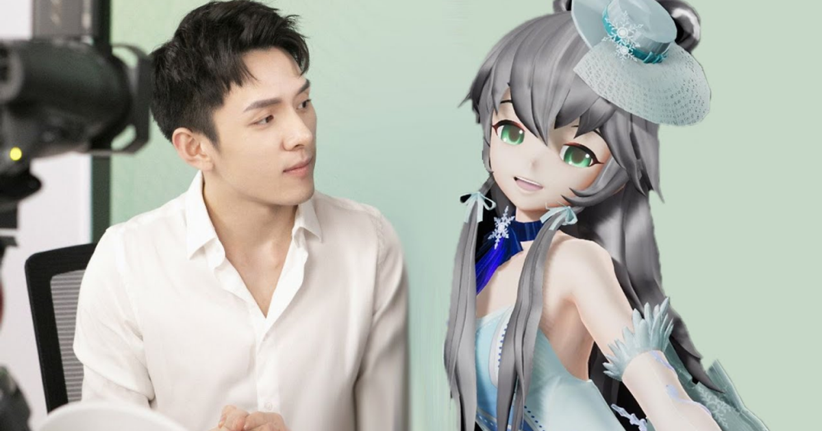 Vocaloid Luo Tianyi la ai anh 2