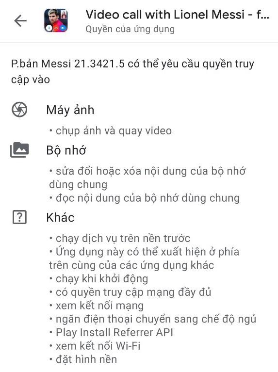 Ung dung goi video voi Lionel Messi anh 2