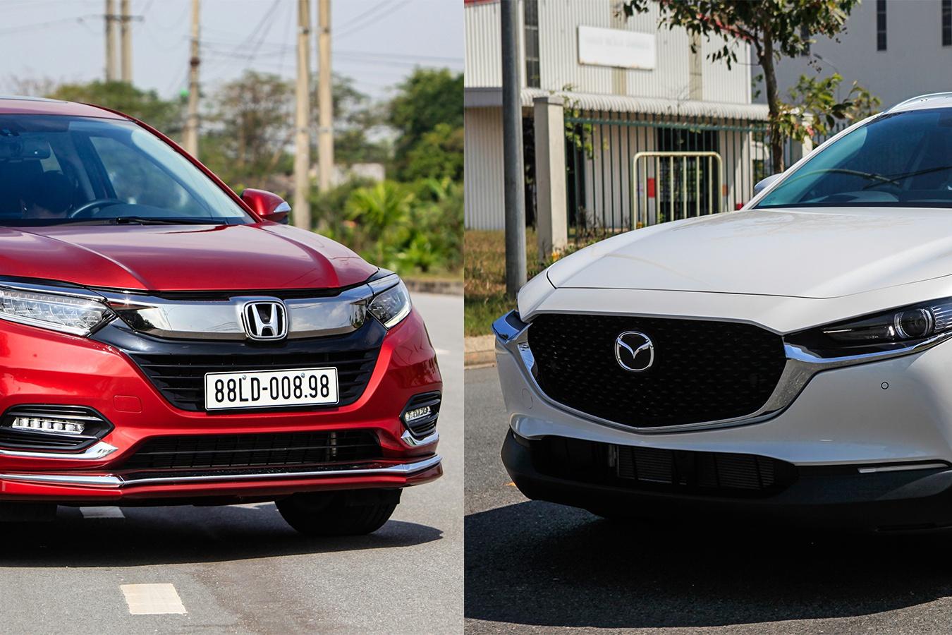 So sanh Mazda CX-30 va Honda HR-V anh 1