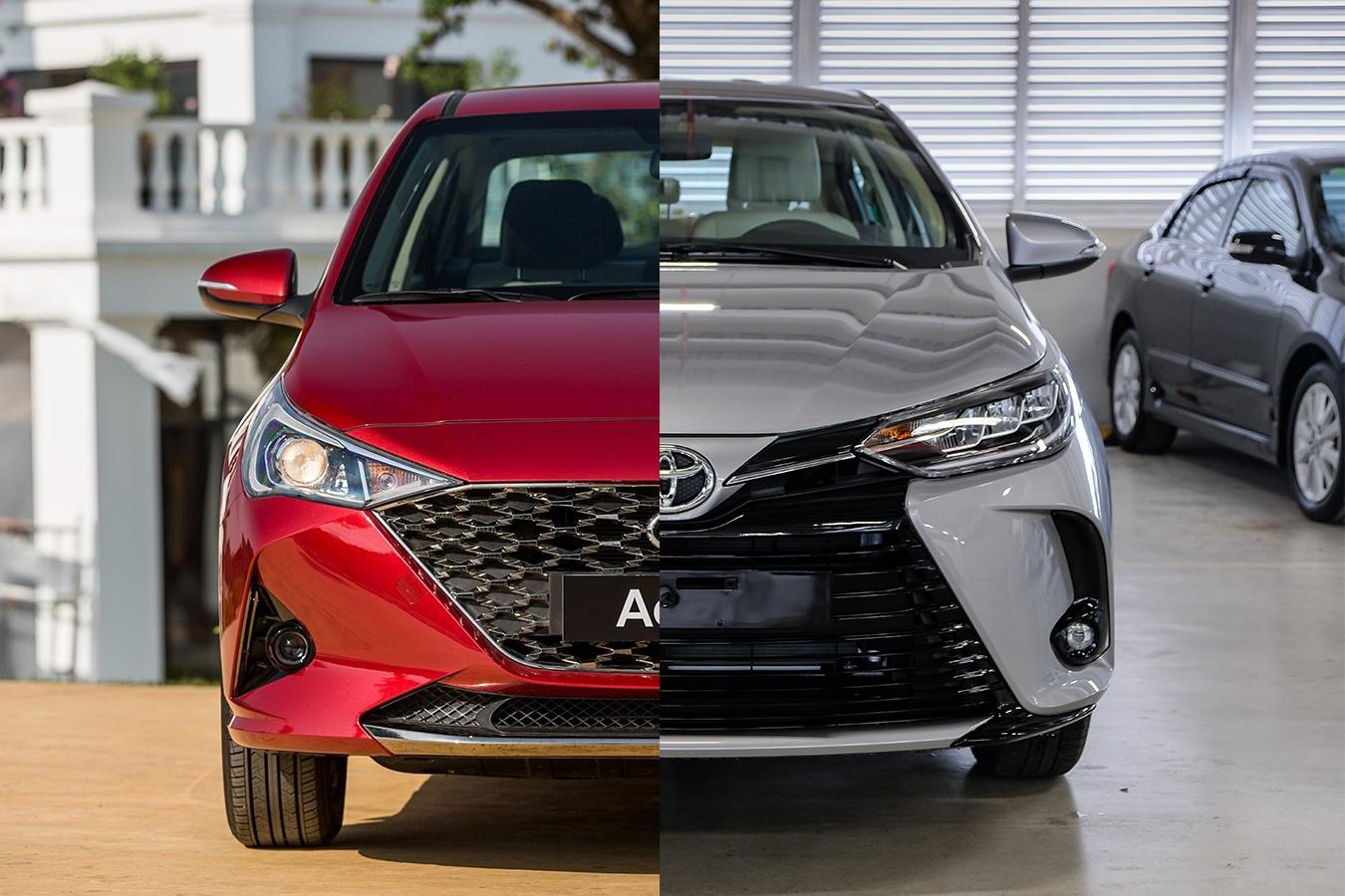 so sanh Hyundai Accent va Toyota Vios 2021 anh 1