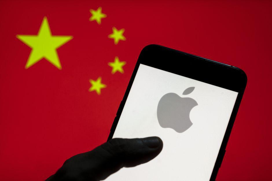 Apple chia se du lieu tai Trung Quoc anh 1