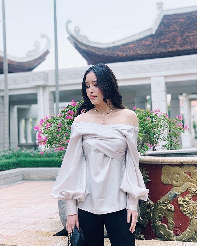 Em gai Mai Phuong Thuy mac sanh dieu, co tinh yeu 5 nam hanh phuc hinh anh 7