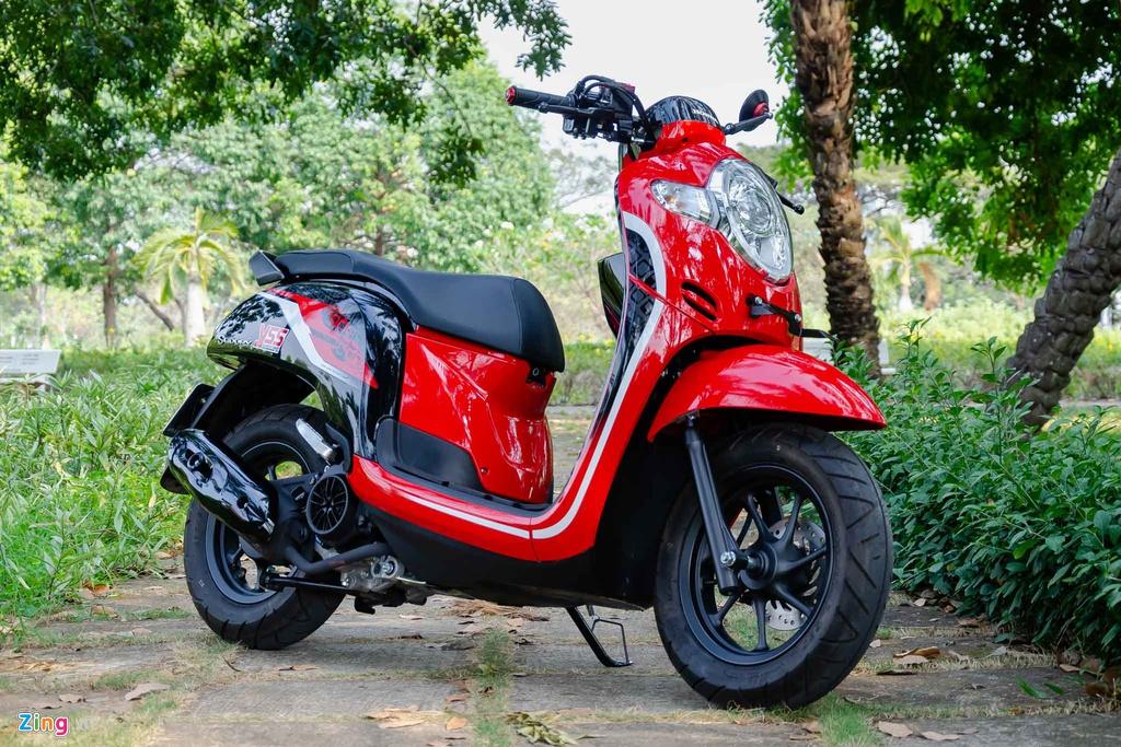 Mua xe tay ga nu voi 40 trieu - chon Yamaha Latte hay Honda Scoopy? hinh anh 2 Honda_Scoopy_Zing_2_.jpg