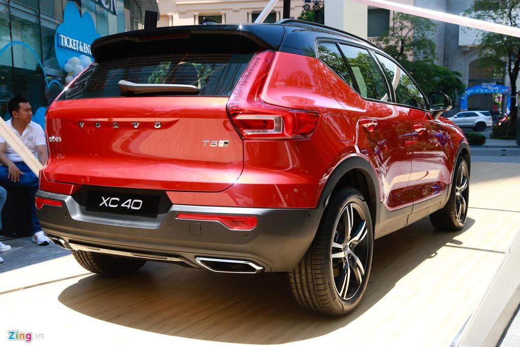 Nhung mau SUV tam gia 2 ty dang can nhac cho gia dinh hinh anh 4 Volvo_XC40_29_zing.jpg