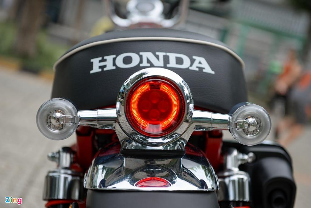 Nhung mau xe may dang ban tai Viet Nam chi di duoc mot nguoi hinh anh 3 Honda_MonKey_125_zing_10.jpg