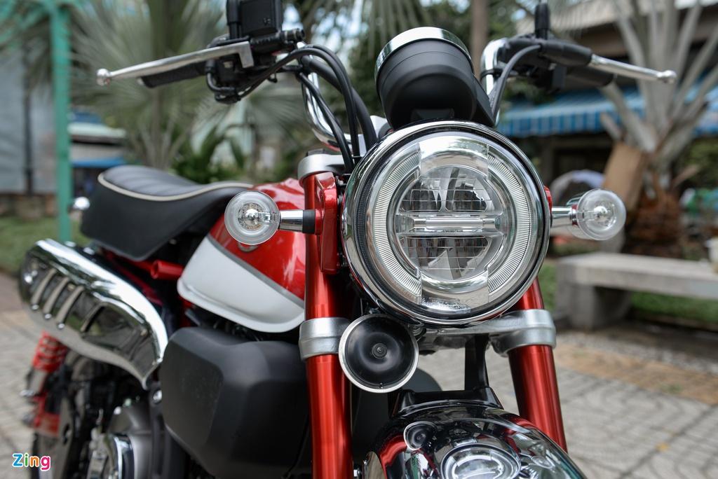 Nhung mau xe may dang ban tai Viet Nam chi di duoc mot nguoi hinh anh 2 Honda_MonKey_125_zing_4.jpg