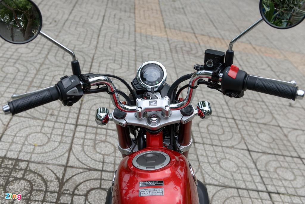 Nhung mau xe may dang ban tai Viet Nam chi di duoc mot nguoi hinh anh 4 Honda_MonKey_125_zing_8.jpg