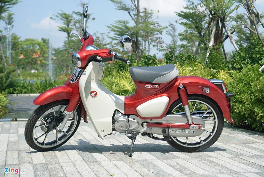 Nhung mau xe may dang ban tai Viet Nam chi di duoc mot nguoi hinh anh 8 super_cub_c125_1_zing.jpg