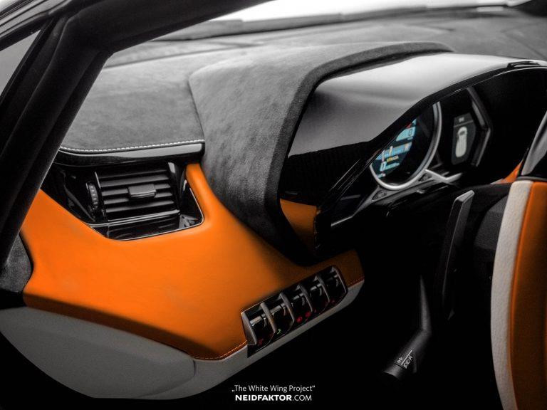 Tan trang Lamborghini Aventador Roadster, ton ngang 1 chiec oto moi hinh anh 4