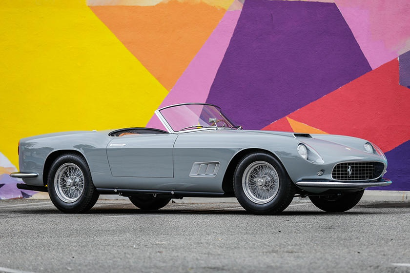 Nhung mau xe phai chi hang trieu USD moi co the so huu hinh anh 8 1958_Ferrari_250_GT_LWB_California_Spider.jpg