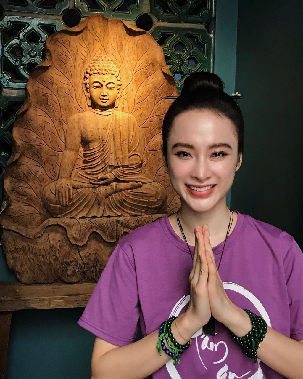 Sao nhi mot thoi - Xuan Mai sinh 3 con, Phuong Trinh tam roi showbiz hinh anh 8 angela.phuongtrinh_87574404_2224872301153277_8683971239573710167_n.jpg