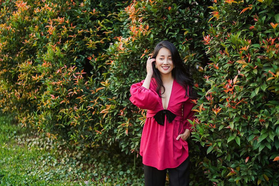 MC Quỳnh Chi cho biết cô mới trải quan quãng thời gian khủng hoảng khi tập sống một mình.