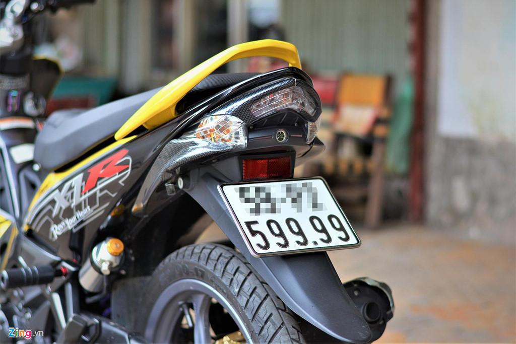 Chiem nguong Yamaha X1R 'that' mang bien so 9999 hinh anh 14