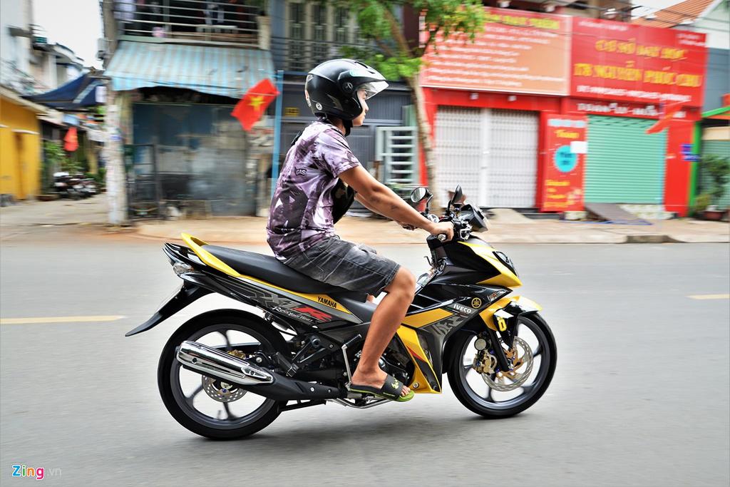 Chiem nguong Yamaha X1R 'that' mang bien so 9999 hinh anh 15
