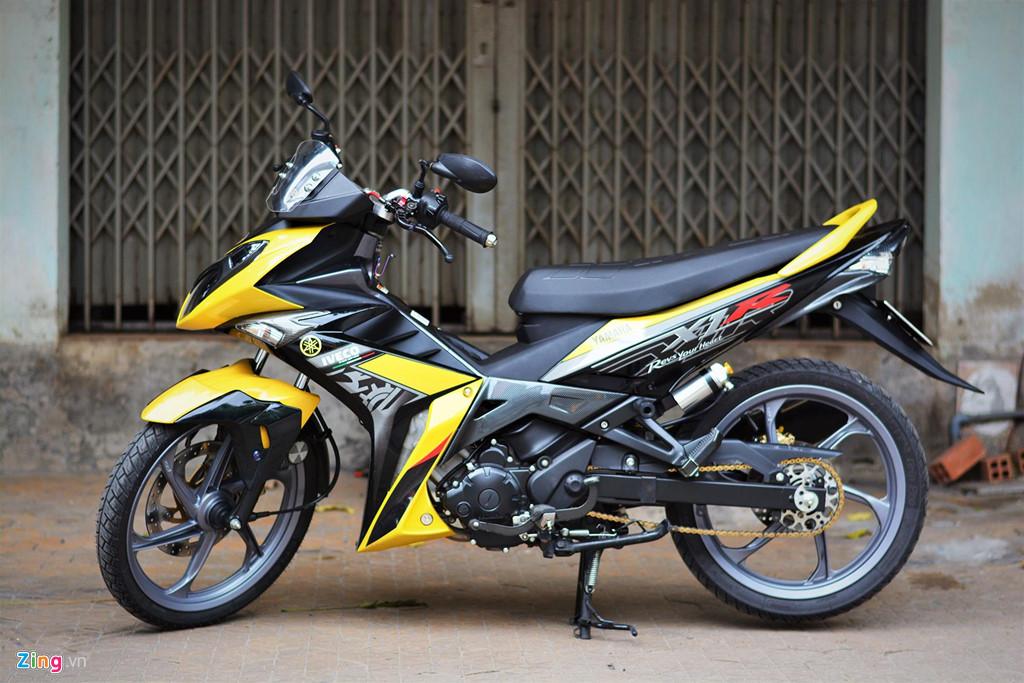 Chiem nguong Yamaha X1R 'that' mang bien so 9999 hinh anh 16