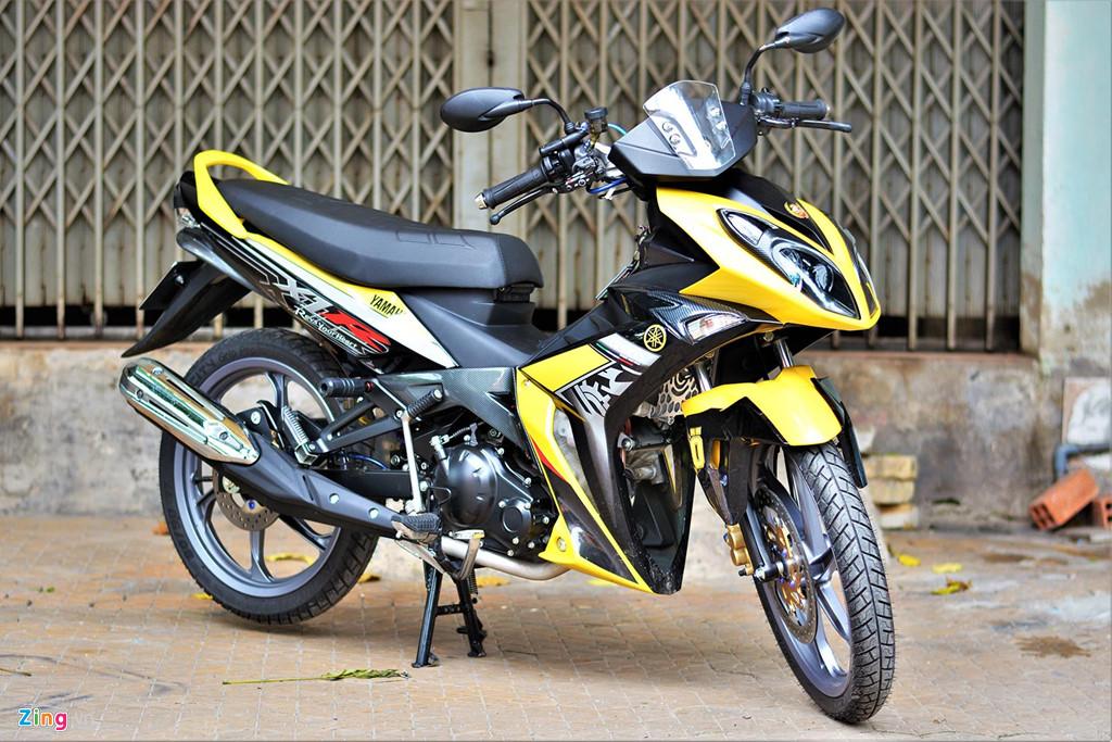 Chiem nguong Yamaha X1R 'that' mang bien so 9999 hinh anh 1