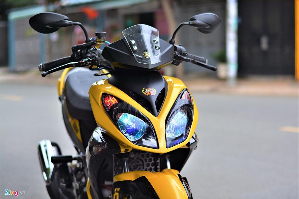 Chiem nguong Yamaha X1R 'that' mang bien so 9999 hinh anh 2