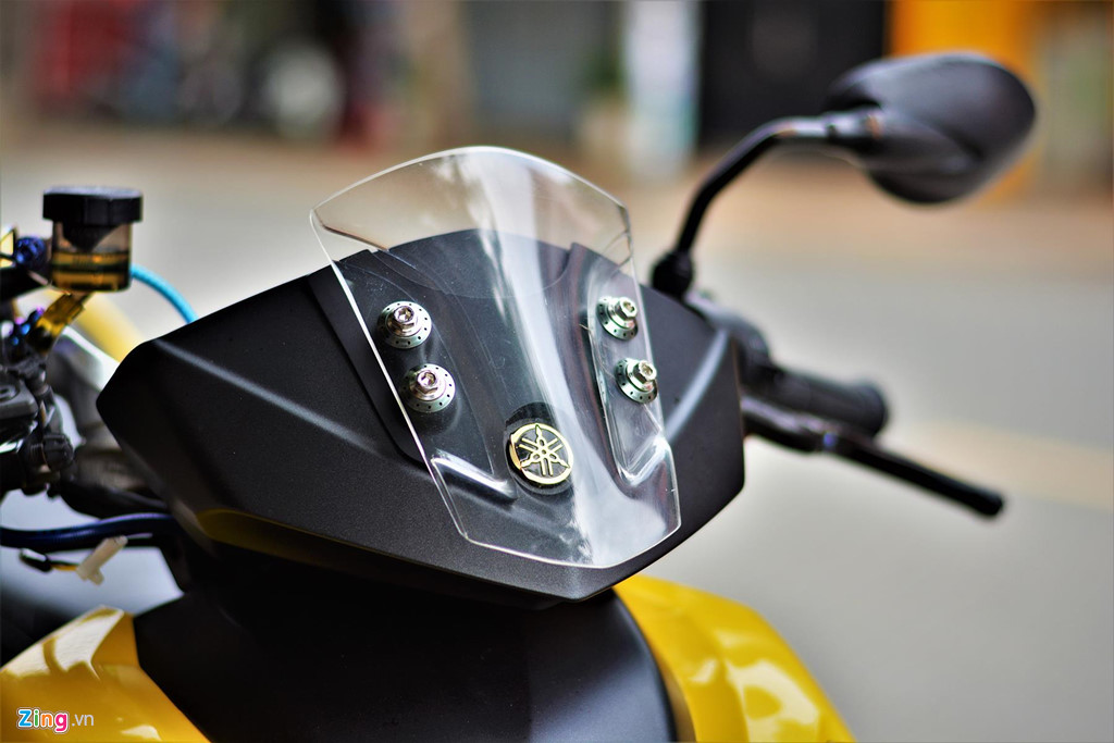 Chiem nguong Yamaha X1R 'that' mang bien so 9999 hinh anh 5