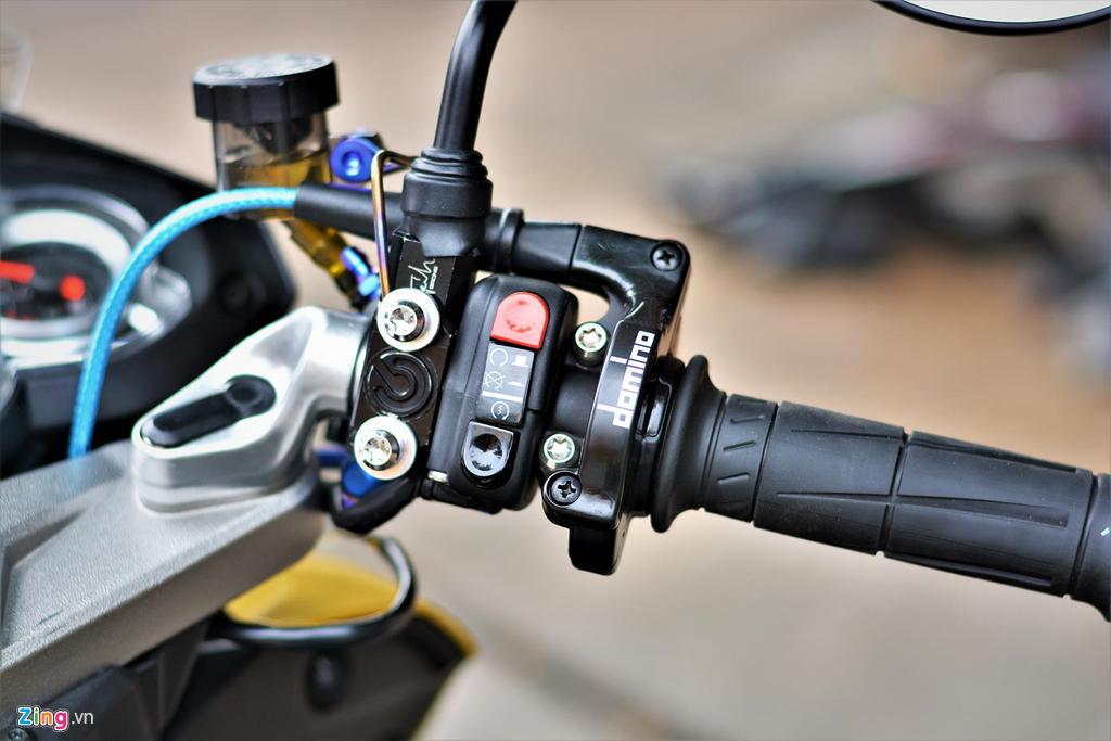 Chiem nguong Yamaha X1R 'that' mang bien so 9999 hinh anh 6