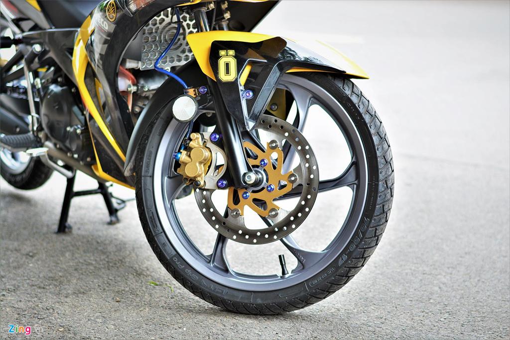 Chiem nguong Yamaha X1R 'that' mang bien so 9999 hinh anh 8