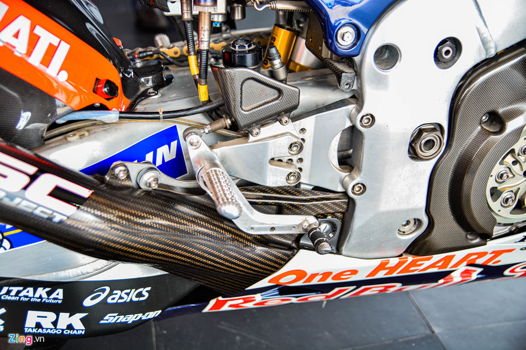 Chi tiet Honda RC213V tri gia 2 trieu USD ma Marc Marquez tung cam lai hinh anh 7