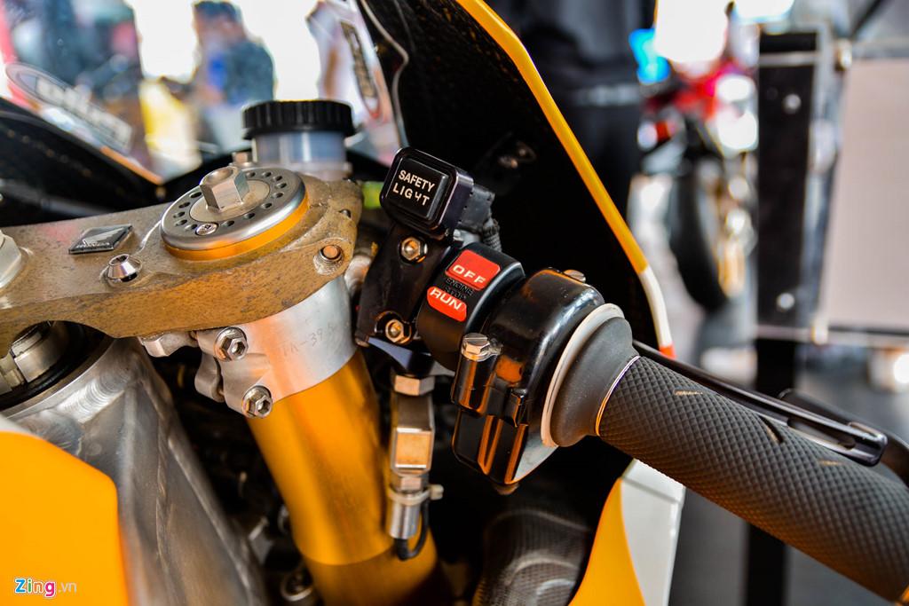 Chi tiet Honda RC213V tri gia 2 trieu USD ma Marc Marquez tung cam lai hinh anh 5