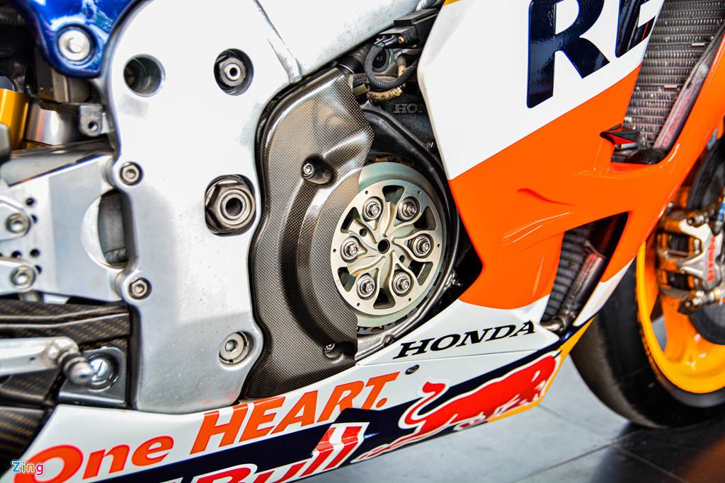 Chi tiet Honda RC213V tri gia 2 trieu USD ma Marc Marquez tung cam lai hinh anh 6
