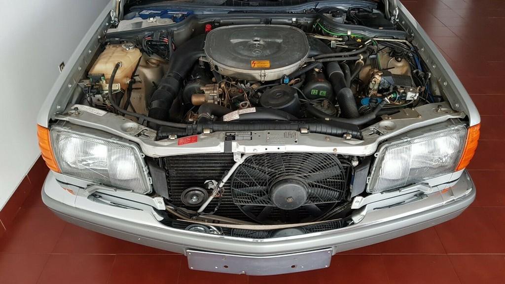 Xe co Mercedes 560 SEL doi 1986 duoc rao ban voi gia 170.000 USD hinh anh 5