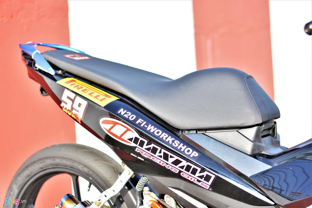 Yamaha Exciter 150 thay doi ra sao de bien thanh xe dua? hinh anh 5