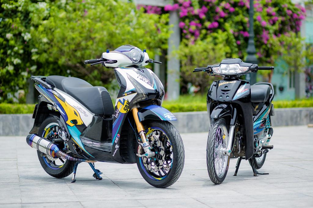 Honda SH 150i voi loat trang bi tri gia nua ty dong cua biker Ha Noi hinh anh 1