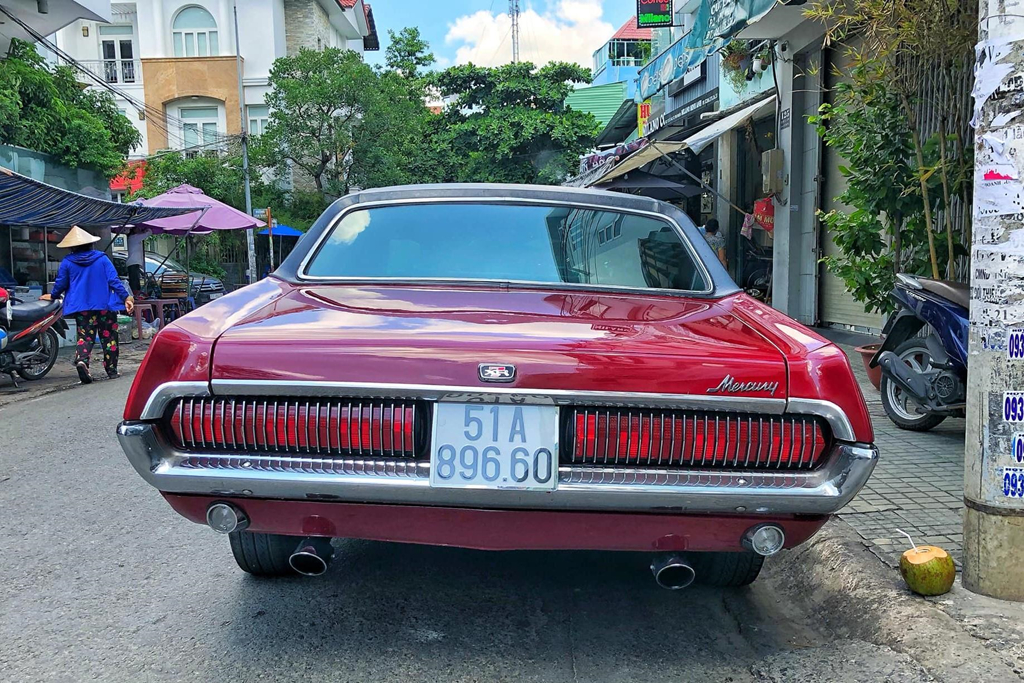 Rapper Viet tau xe co 'tien ty' Mercury Cougar 1968 hinh anh 3