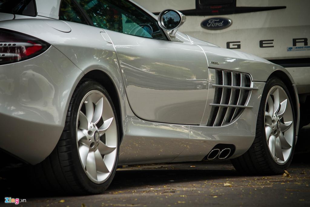 'Mui ten bac' Mercedes SLR McLaren doc nhat VN tai xuat hinh anh 7