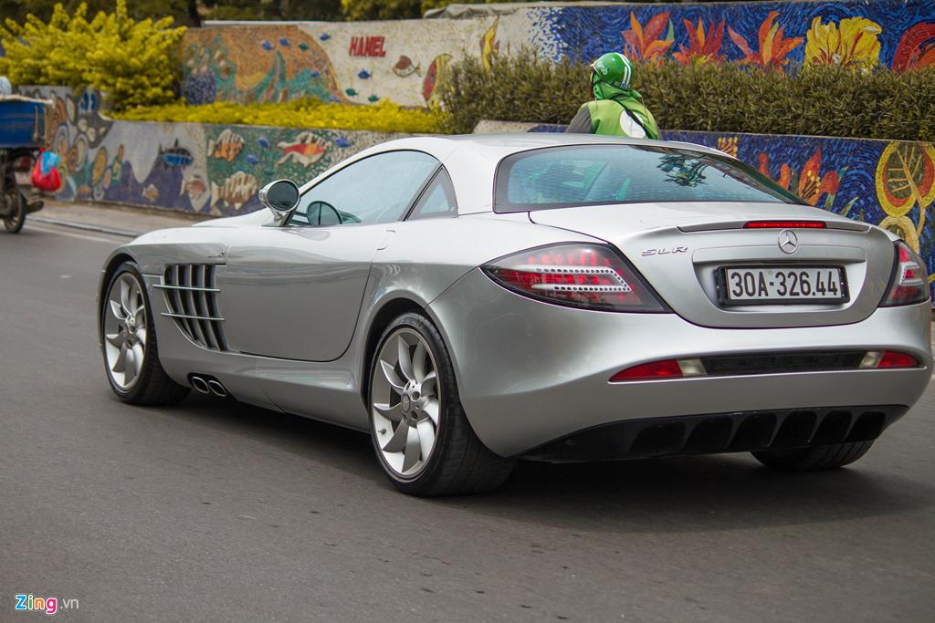 'Mui ten bac' Mercedes SLR McLaren doc nhat VN tai xuat hinh anh 8