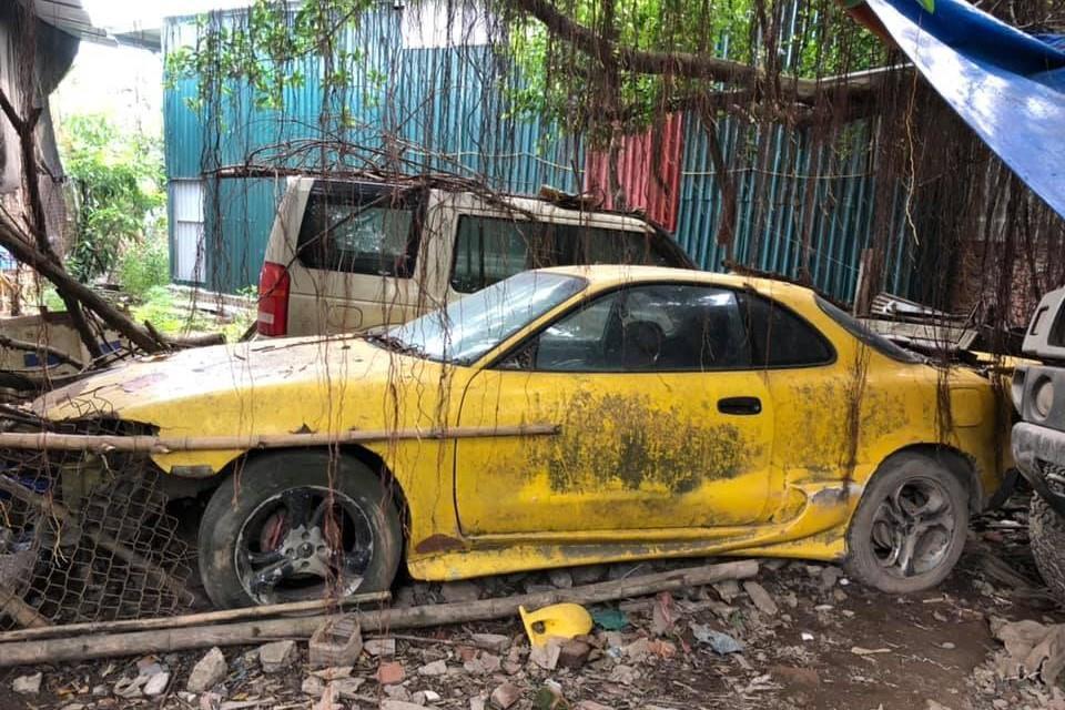 Ford Mustang, Hummer H2, Land Rover bi bo roi tai Ha Noi hinh anh 6
