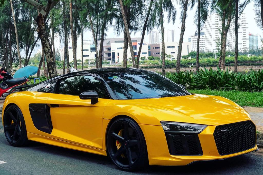 Sieu xe Audi R8 cua Cuong Do La 'thay ao' sau khi ve voi chu moi hinh anh 1