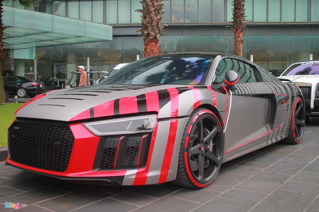 Sieu xe Audi R8 cua Cuong Do La 'thay ao' sau khi ve voi chu moi hinh anh 5
