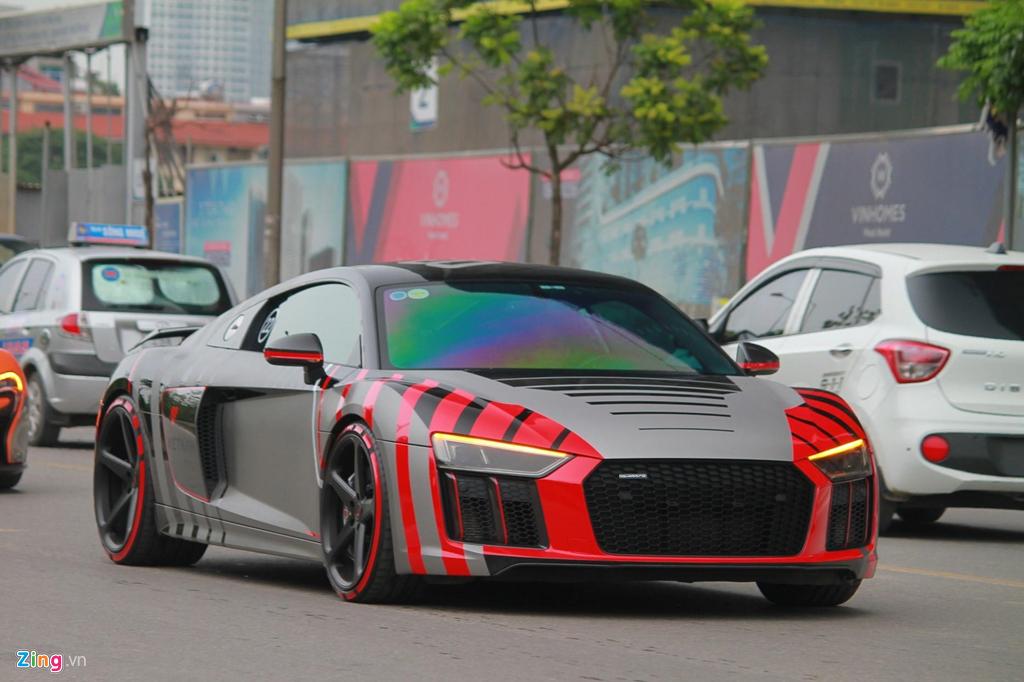 Sieu xe Audi R8 cua Cuong Do La 'thay ao' sau khi ve voi chu moi hinh anh 6