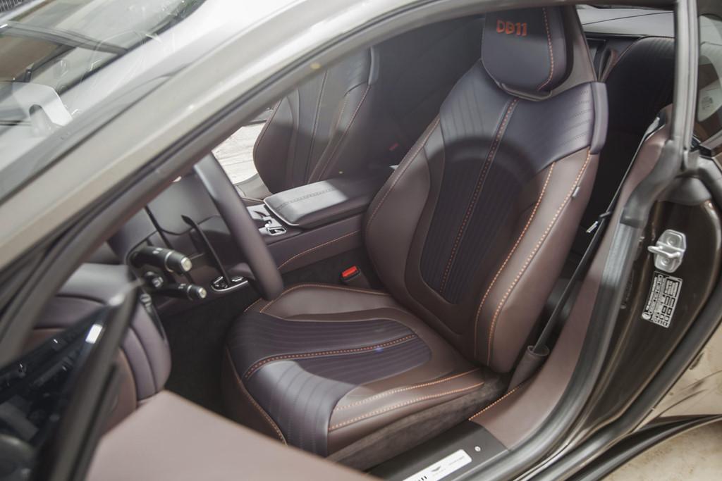 Sieu xe Aston Martin DB11 Kopi Bronze doc nhat VN gia 16 ty da co chu hinh anh 6