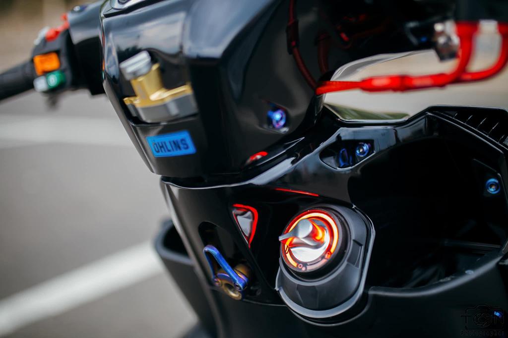 Biker Khanh Hoa chi 500 trieu do lai Yamaha Nouvo hinh anh 9