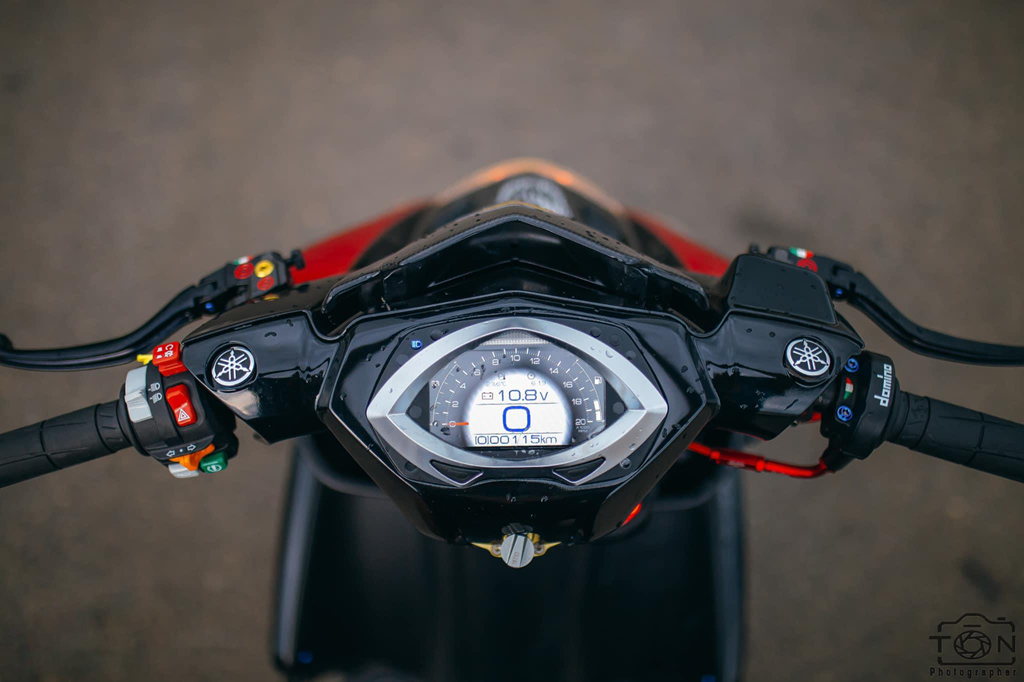 Biker Khanh Hoa chi 500 trieu do lai Yamaha Nouvo hinh anh 8