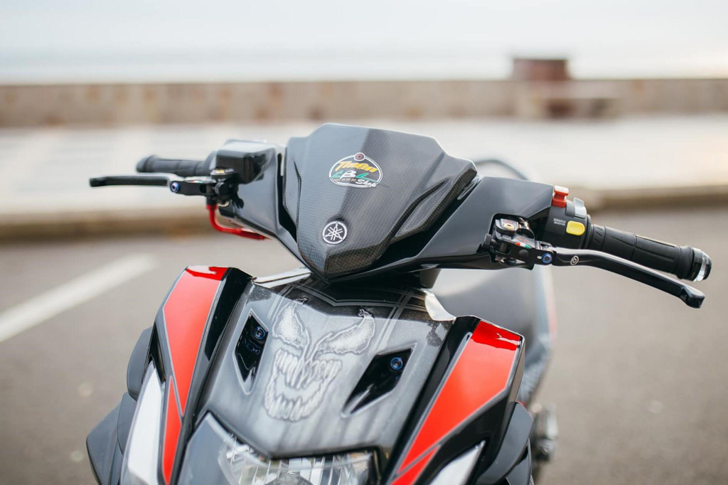Biker Khanh Hoa chi 500 trieu do lai Yamaha Nouvo hinh anh 3