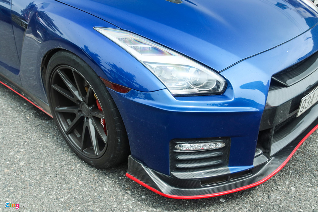 Nissan GT-R do bodykit Nismo doc nhat VN cua dai gia Binh Phuoc hinh anh 5