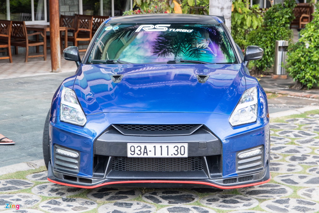 Nissan GT-R do bodykit Nismo doc nhat VN cua dai gia Binh Phuoc hinh anh 4