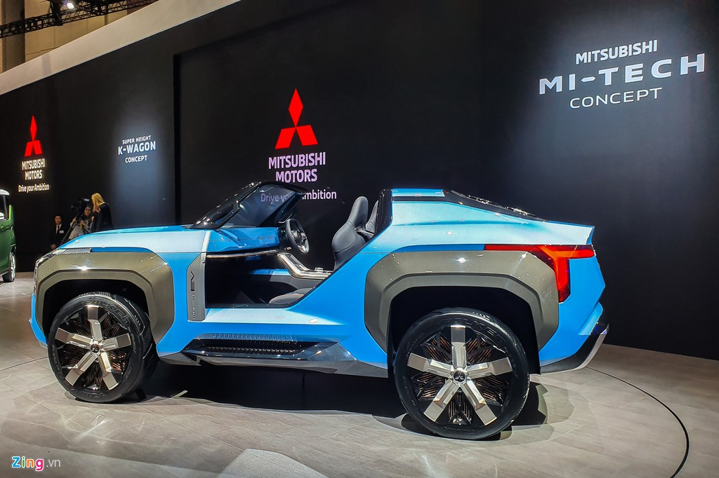 Mitsubishi Mi-Tech Concept - SUV mui tran khong co cua hinh anh 9