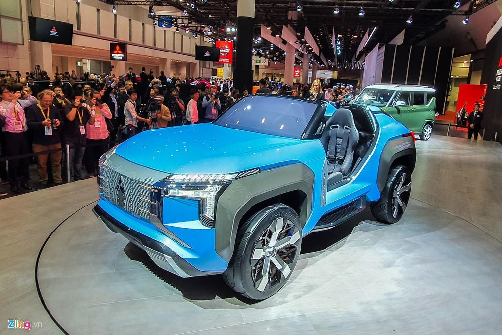 Mitsubishi Mi-Tech Concept - SUV mui tran khong co cua hinh anh 1