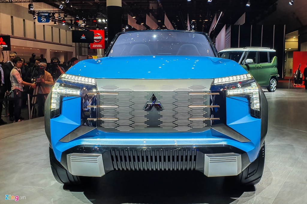 Mitsubishi Mi-Tech Concept - SUV mui tran khong co cua hinh anh 4