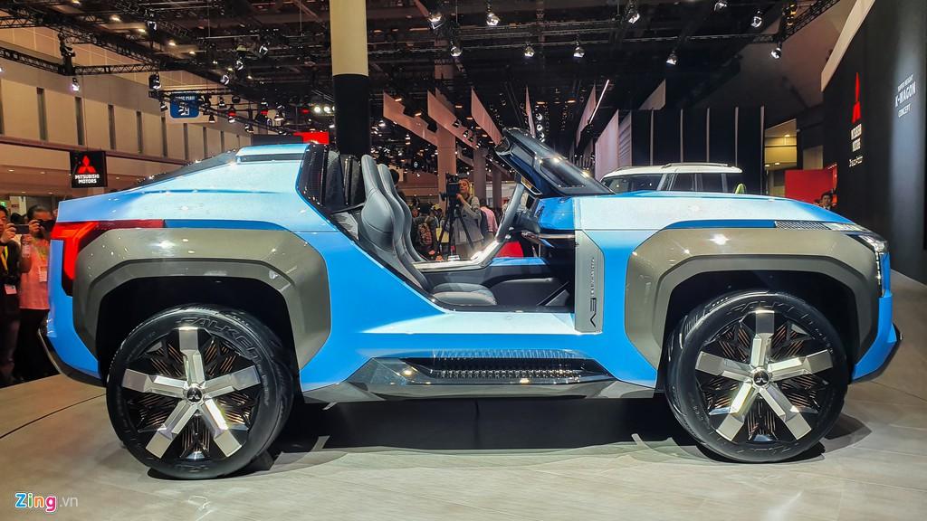 Mitsubishi Mi-Tech Concept - SUV mui tran khong co cua hinh anh 3